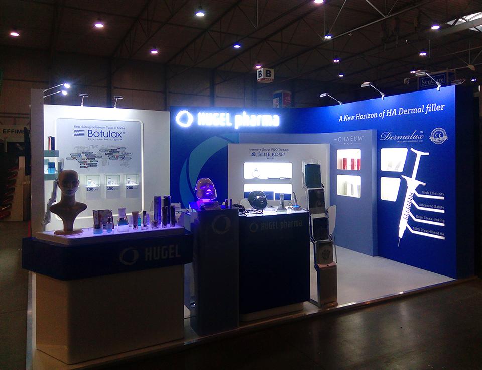 VEEX_Hugel_Pharma_World of beuty & spa Praha 2017